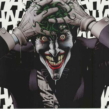 Batman The Joker Crazed DC Comics Poster 22x34