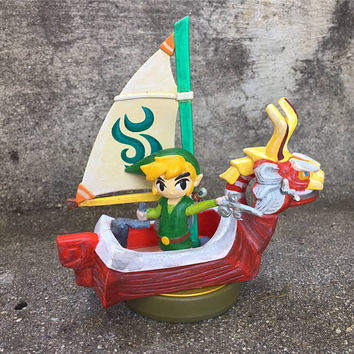 Legend of Zelda: Windwaker custom amiibo