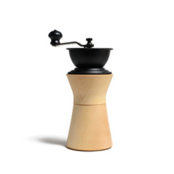 Cherry Birch Wood & Iron Coffee Mill
