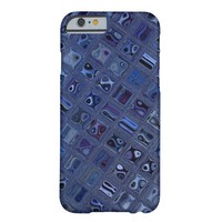 Blue Jewel Barely There iPhone 6 Case