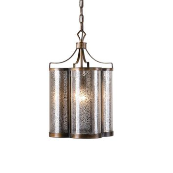 Croydon 1 Light Mercury Glass Pendant By Uttermost