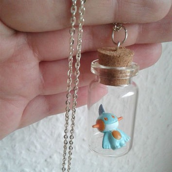 Pokémon Necklace- MARSHTOMP Chibi - Pokemon GO - Pokemon Trainer Gear