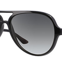 Ray-Ban RB4125 601/32 59-13 CATS 5000 CLASSIC Black sunglasses | Official Online Store US