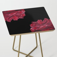 Roses are Red Side Table by drawingsbylam