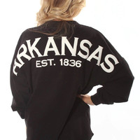 Riffraff | Arkansas Spirit Jersey -black