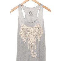 Crocheted Elephant Tank