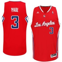 NBA Los Angeles Clippers Chris Paul #3 Youth Swingman Road Jersey, Red