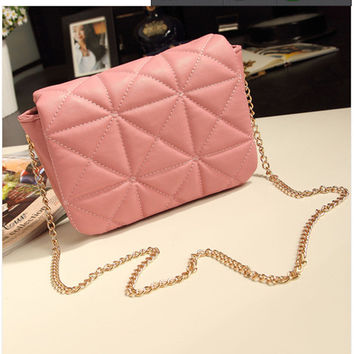 Casual Stylish One Shoulder Chain Bags Messenger Bags [6582946119]