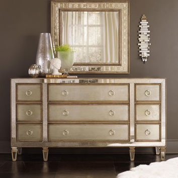 Hooker Furniture Ilyse Mirrored Bedroom Furniture