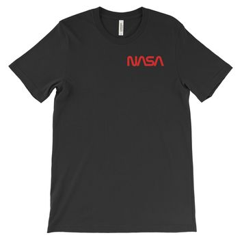 NASA Worm Logo (left) T-Shirt