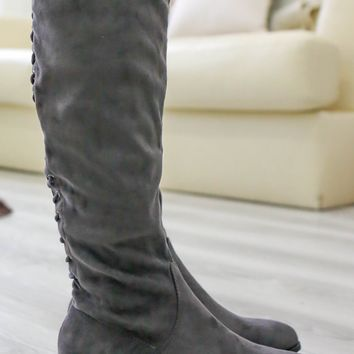 Caylee Boots - Charcoal
