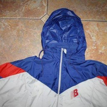 QIYIF 90s new balance windbreaker jacket