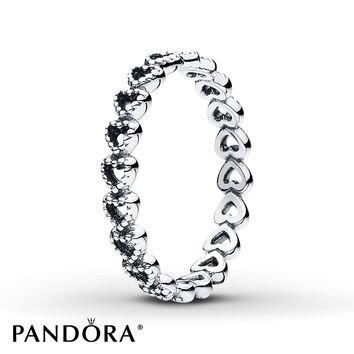 PANDORA Ring Linked Love Sterling Silver