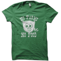 No Farm No Food T-Shirt from These Shirts