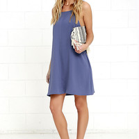 Clarion Call Denim Blue Dress
