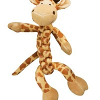 KONG BraidZ Giraffe Dog Toy, Medium