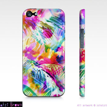 PARADISE - Tropical Phone Case  iphone 5/ 5S / 4/ 4S Samsung 3/4