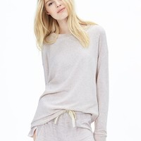 Banana Republic Womens Slubbed French Terry Sweatshirt