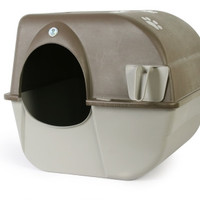 Omega Paw Roll 'N Clean Cat Litter Box Size: Large