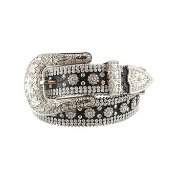Shyanne® Women's Leather Rhinestone Belt
