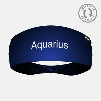 Aquarius Doublesided Headband