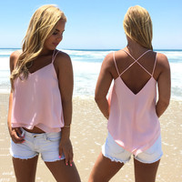 Take Two Blouse In Pink