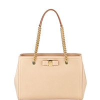 Salvatore Ferragamo MeLike Vara Medium Tote Bag