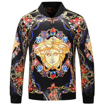 Versace 2018 early autumn men's British style fashion casual jacket F-A00FS-GJ
