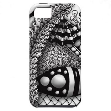 Jewel Teardrop Zendoodle iPhone 5 Cases