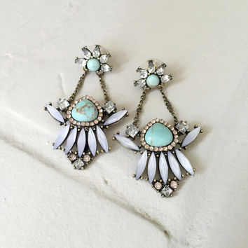 Galen Turquoise Earrings