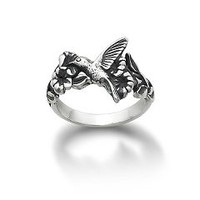 Hummingbird and Flower Ring | James Avery