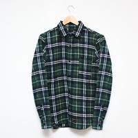 Plaid Shirt (Evergreen) | The Honour Over Glory Store