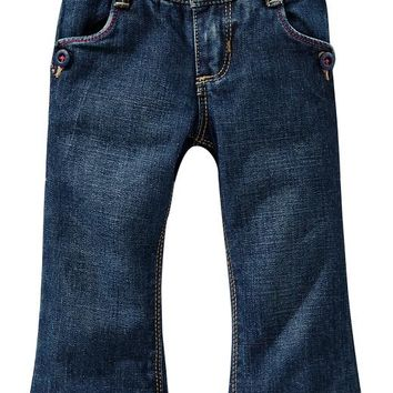 Old Navy Button Pocket Boot Cut Jeans For Baby