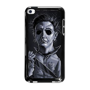 MICHAEL MYERS HALLOWEEN ART iPod Touch 4 Case Cover