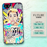 Miley Cyrus iPhone 4s case Miley Cyrus Pop Star iPhone case iphone 4 case iphone 4s case iphone 5 case Hard or Soft Case-MIC09