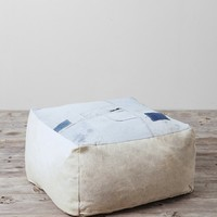 HYM Salvage X UO Large Cube Pouf - Urban Outfitters