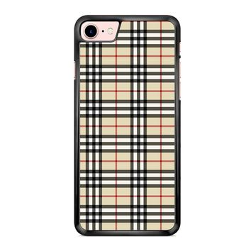 Burberry Inspired iPhone 7 Case