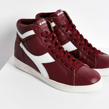 Diadora X UO Game Hi Waxed Leather Sneaker - Urban Outfitters