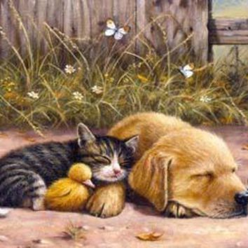 Sleepy Days 100pc Jigsaw Puzzle