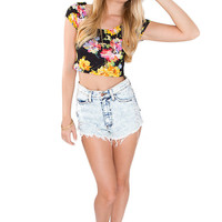 Andi Floral Crop Top