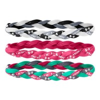 Under Armour Women's UA Braided Mini Headbands - 3pk