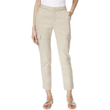 Two by Vince Camuto Womens Flat Front Hook/Bar Zip Fly Cargo Pants