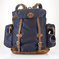 Polo Ralph Lauren Yosemite Nylon Utility Backpack - Navy