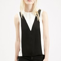 Women's Topshop Colorblock Shell Top ,