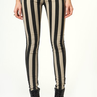 Lolita Thick Striped Skinny Jeans