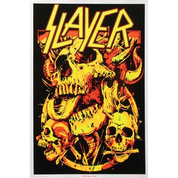 Slayer Blacklight Poster