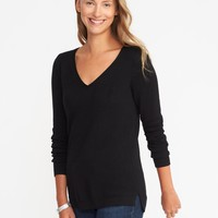Classic V-Neck Sweater for Women |old-navy