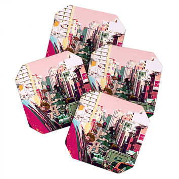 Shannon Clark Hustle And Bustle Coaster Set