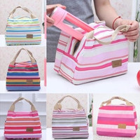 Nice Portable Insulated Thermal Cooler Lunch Box Carry Tote Storage Bag Picnic