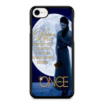 Once Upon A Time Belle Full Moon Iphone 8 Case